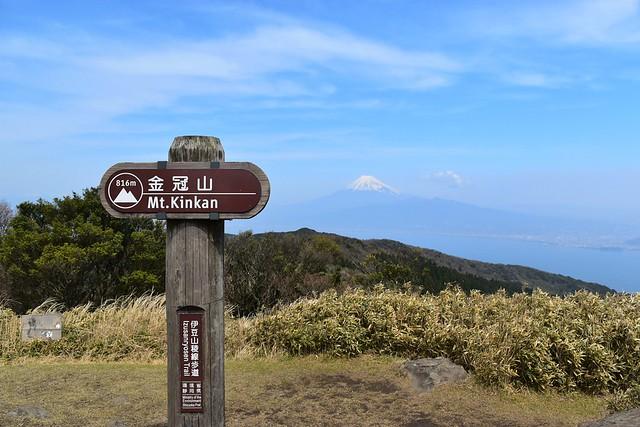 伊豆・金冠山