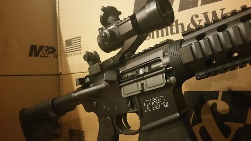 M&P Optics Ready Red Dot Flip Sights