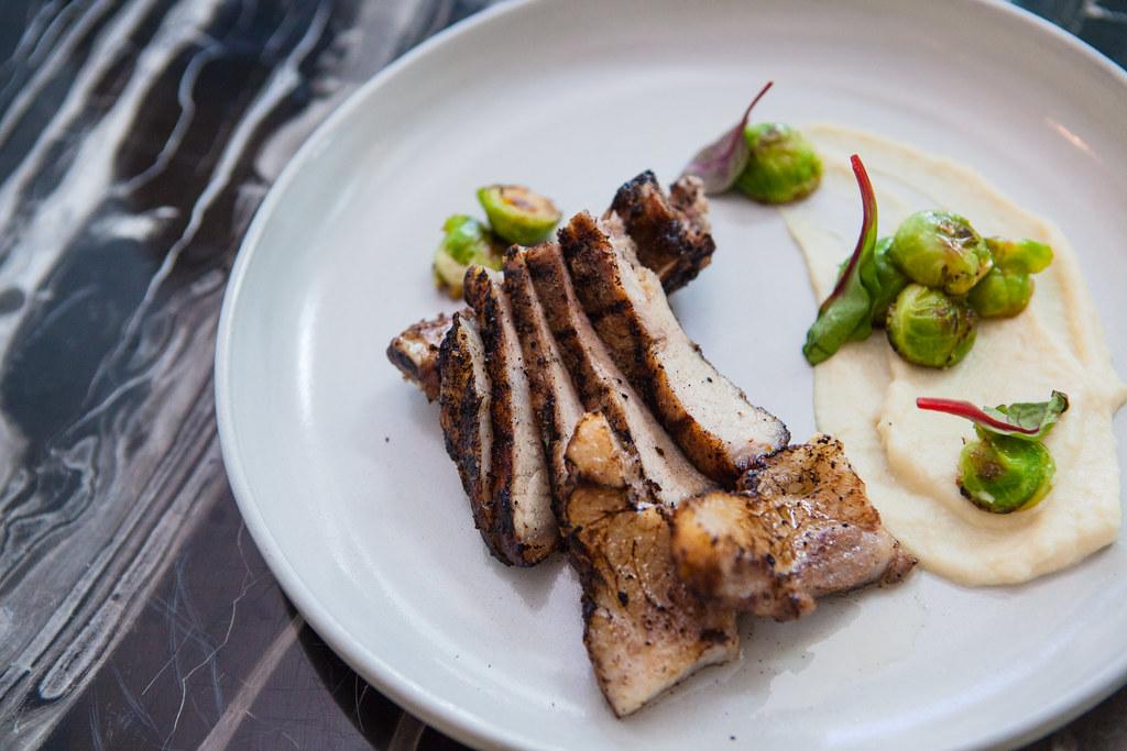 fynn's - dinner plate iberico pork