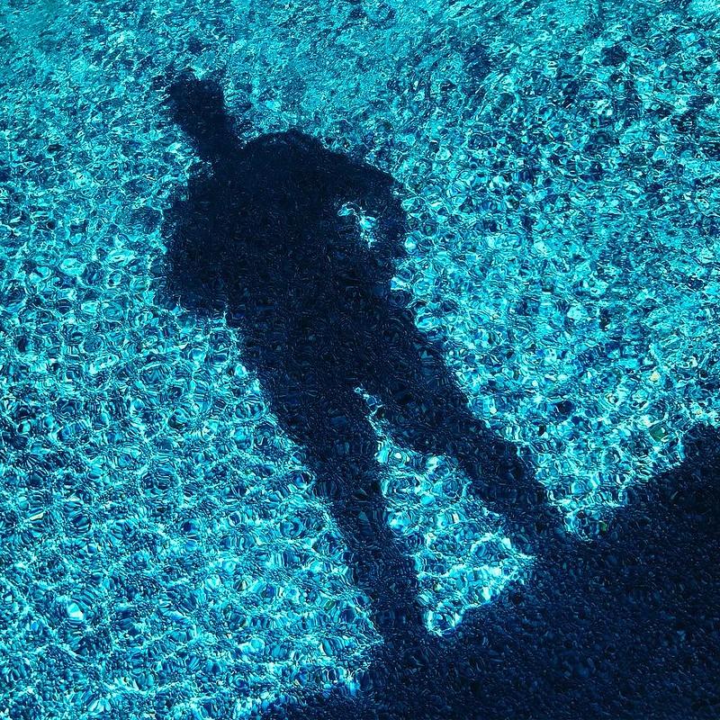 Water selfie.