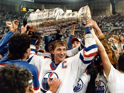 Gretzky Oilers Cup