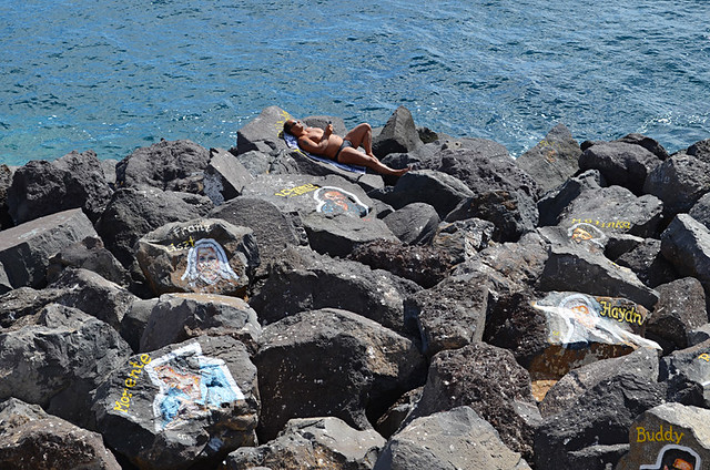 Sunbathe anywhere, Santa Cruz, Tenerife