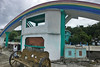 Sibale island - Poblacion port rainbow structure