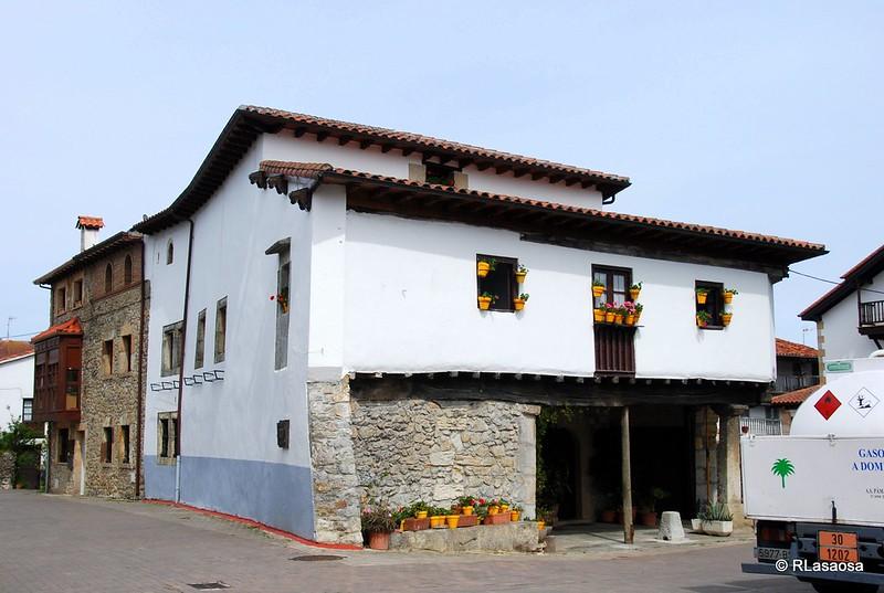 Casa típica de Escalante, Cantabria