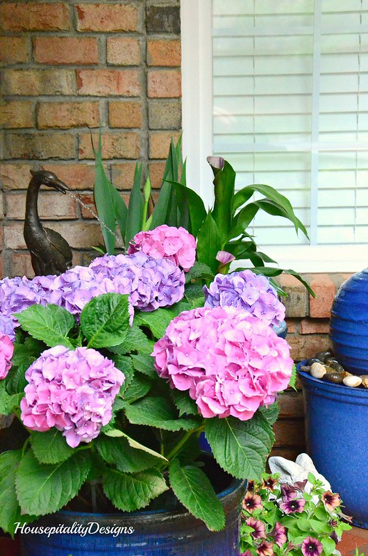 Hydrangeas-Spring Porch 2017-Housepitality Designs