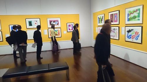 アンリ・マティスの版画集『ジャズ』が展示されたあべのハルカス美術館の会場