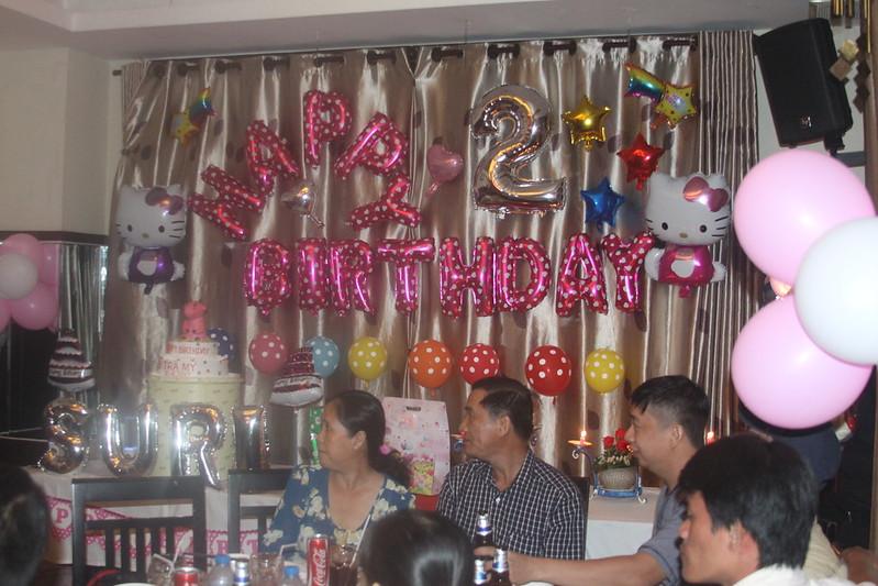 Tiệc sinh nhật bé Trà My