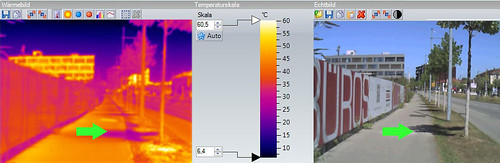 Infrared Camera for Shading