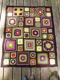 Stained Glass Garden Crochet Afghan Www Ravelry Com
