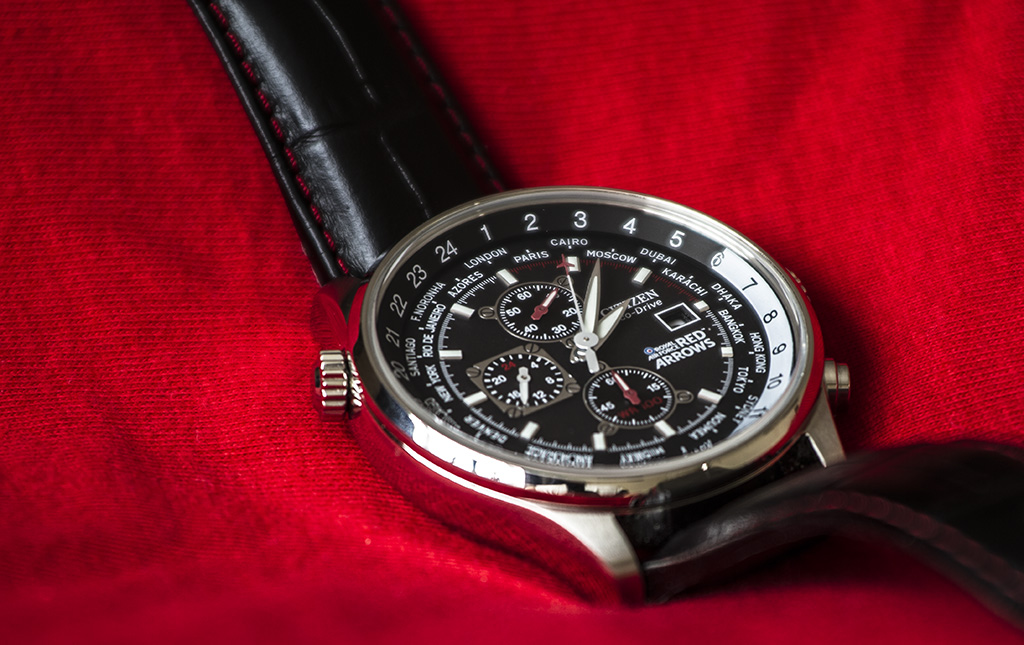 citizen eco drive red arrows manual