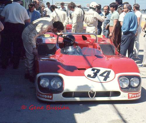 Autodelta And The Alfa Romeo T33-3 At Sebring 1971