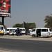Bus stop in Rundu Namibia