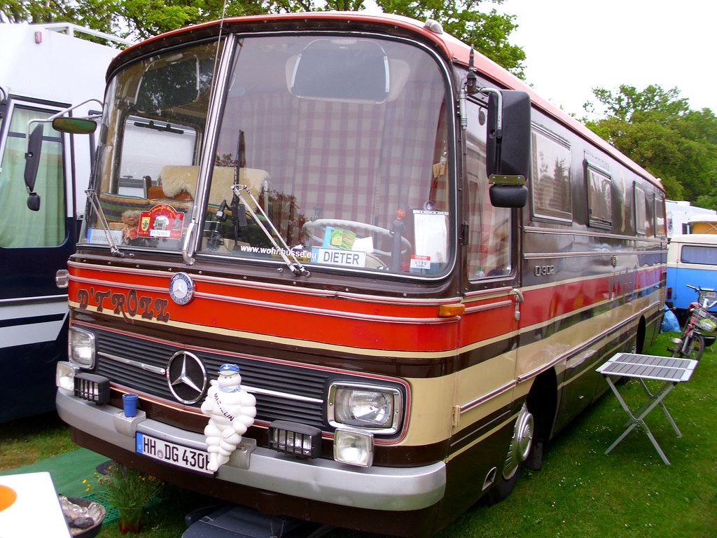 Mercedes benz o302 camper bockhorn 2013 hog troglodyte for Mercedes benz campervan usa