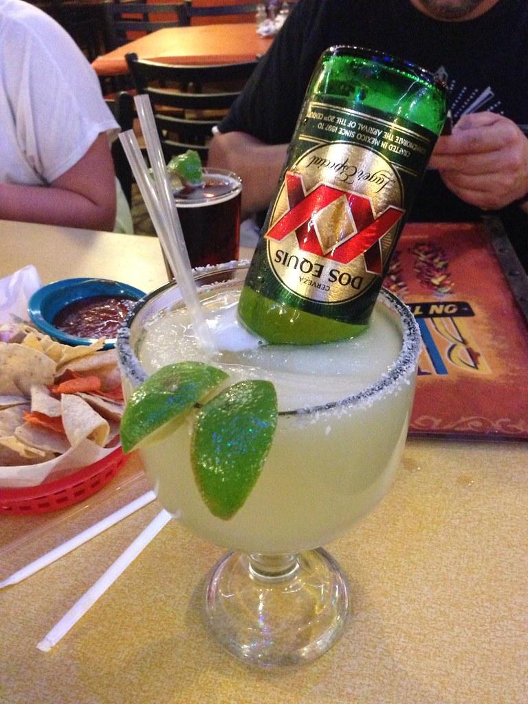 Dos Equis Margarita Because Texas Edward Beavers