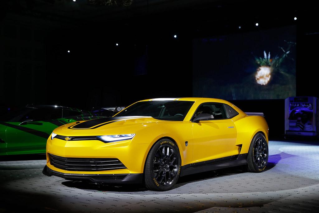 Bumblebee 2014 Concept Camaro | Chevrolet reveals three vehi ...