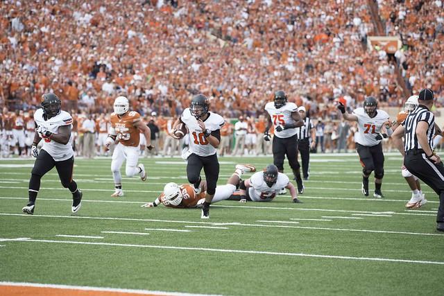 University of Texas Longhorns vs Oklahoma State University ...