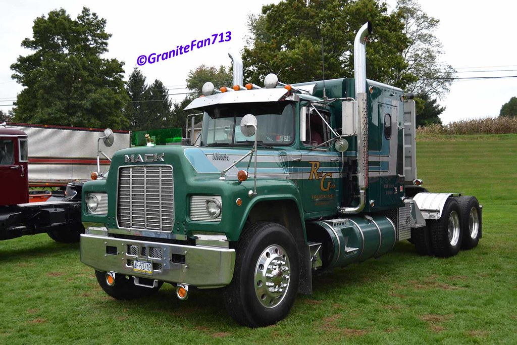 Mack R-Model Tractor (2) | Trucks, Buses, & Trains by ...