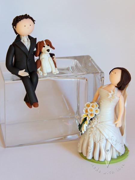 Brautpaar Tortenrand Mit Hund Tortenfiguren Flickr