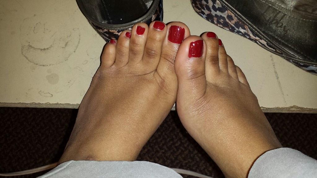 Sexy Ebony Toes 23