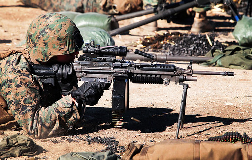 marine machine gunner