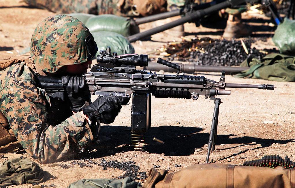 It's Funner as a Machine Gunner | Lance Cpl. Daniel Vitellar… | Flickr