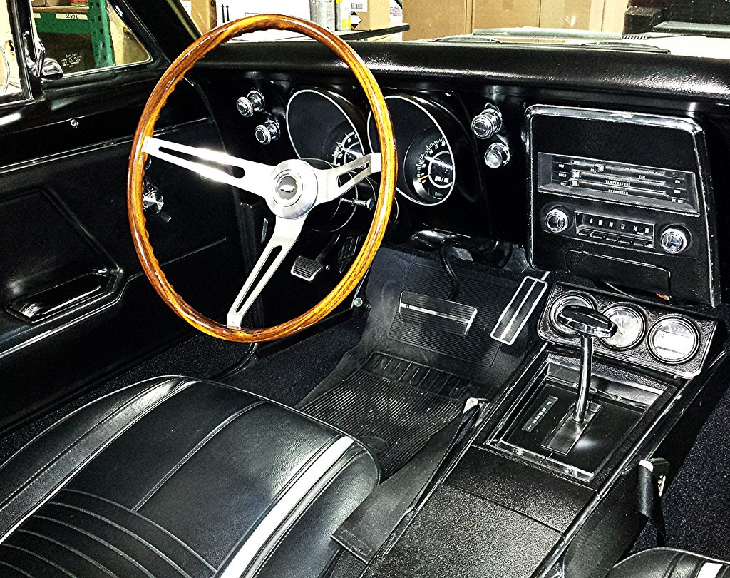 ... Interior Of 1960u0027s Chevy Camaro SS January 21, 2014 | By D Russell4213