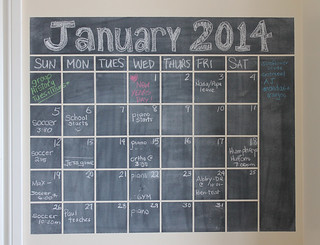 chalkboard calendar | by duckyhouse