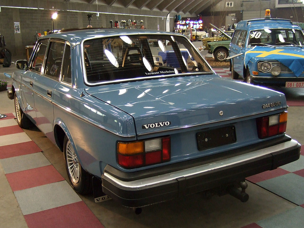 Volvo 244 GL D6 (1978-82) | 6-cylinder-diesel engine from VW… | Flickr