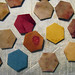 Natural Dyed Hexagons