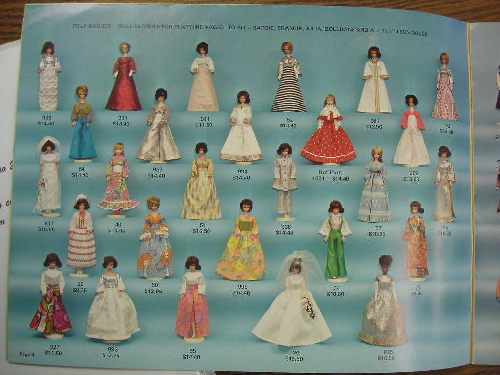 Premier Doll Togs Catalog Pages From The 1960 S Premier