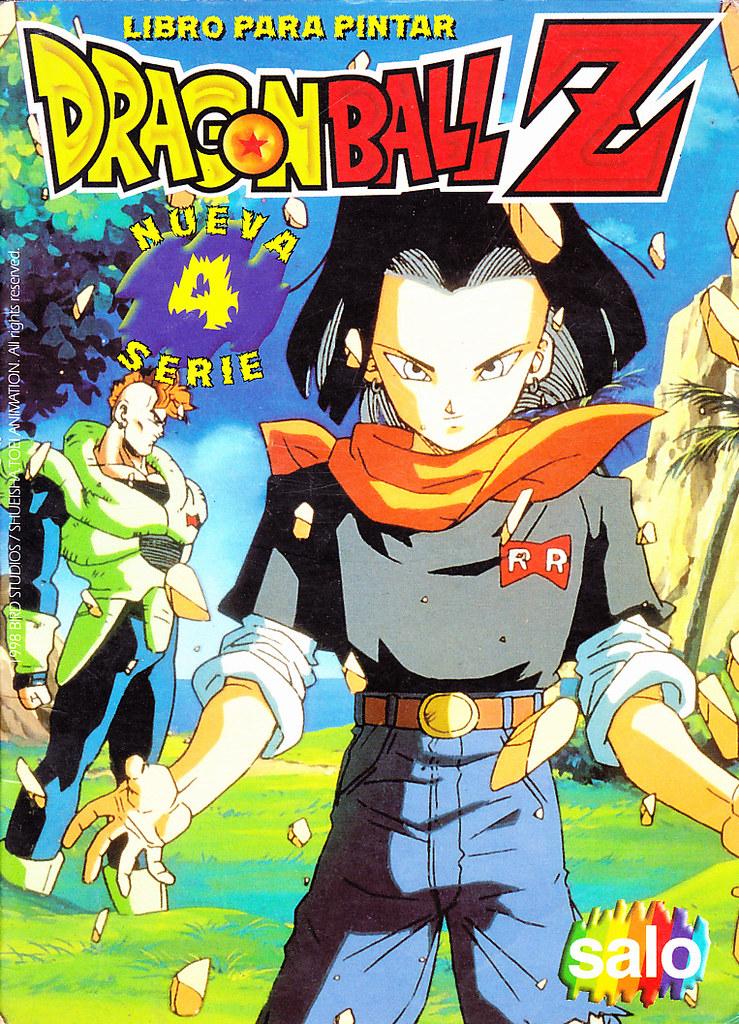 Libro para pintar Dragon Ball Z #4 | Salo, 1998. | xmoltarx | Flickr