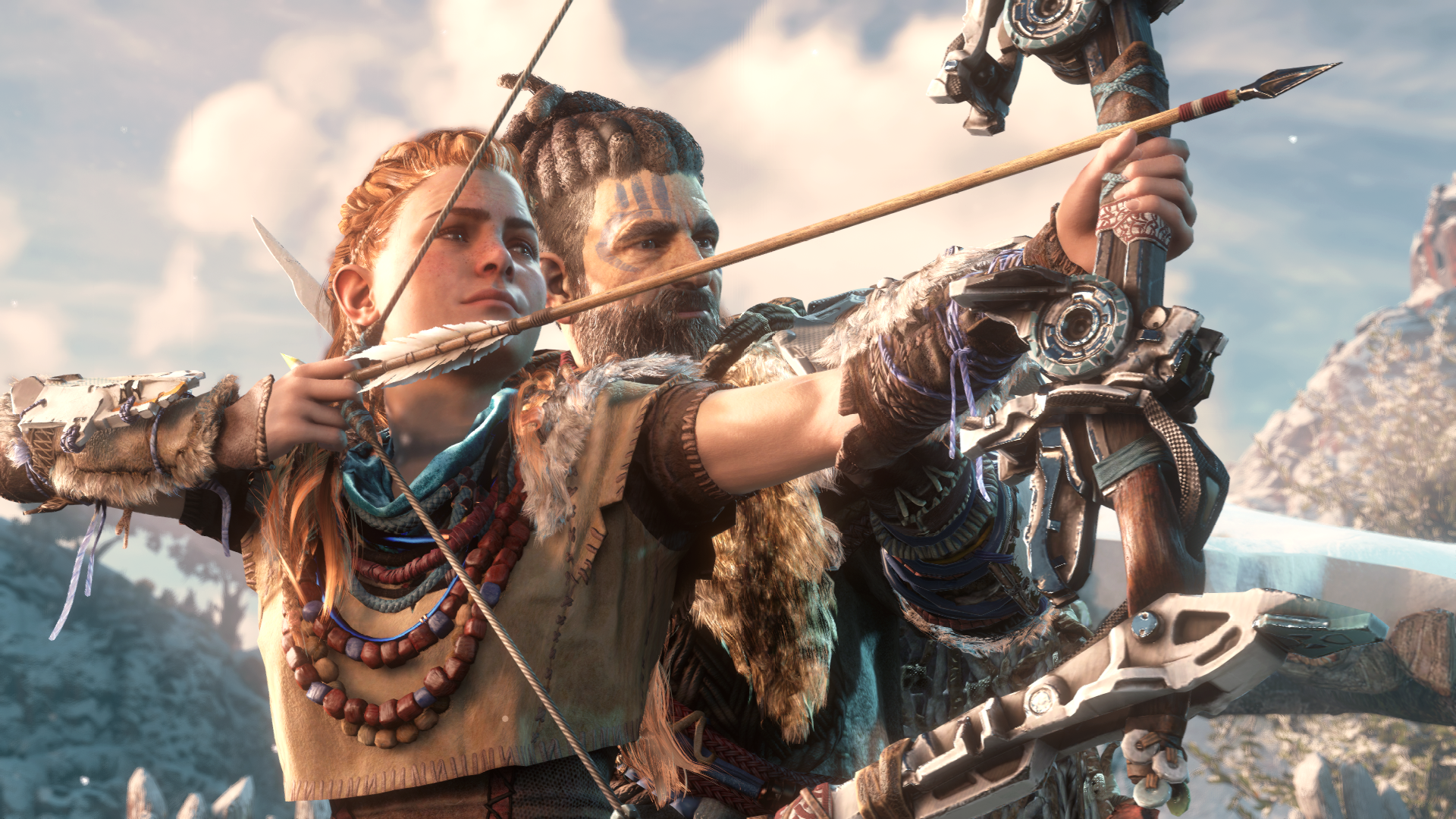 The Creation Of Horizon Zero Dawn S Aloy As Told By