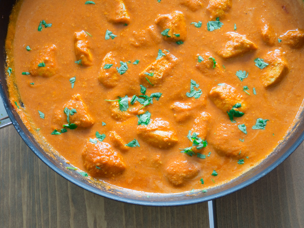 Recipe for Homemade Butter Chicken