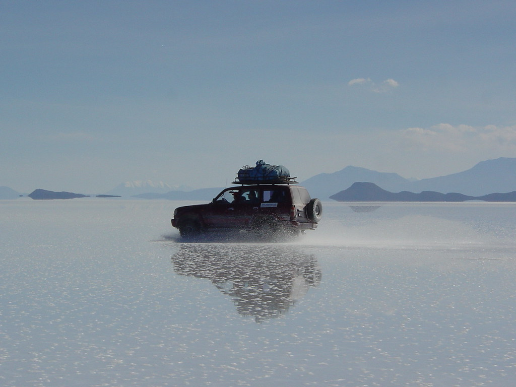 Vagamundos 2004. Bolivia. Uyuni y Salar