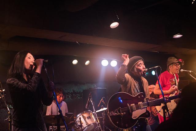 Yoshimitsu Kasuga's 60th birthday live at Manda-La 2, Tokyo, 03 Apr 2017 -00058