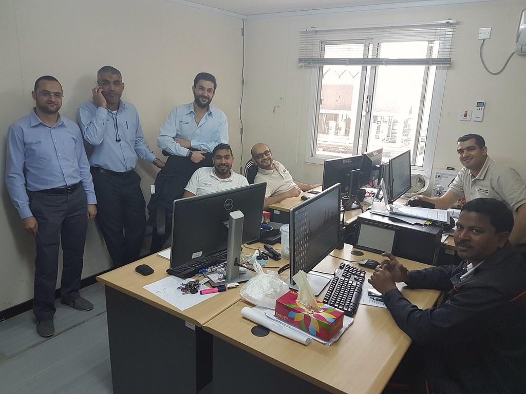 Planners @ Al Ezzel Power Plant
