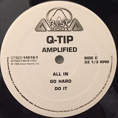 Q-TIP:AMPLIFIED(LABEL SIDE-C)