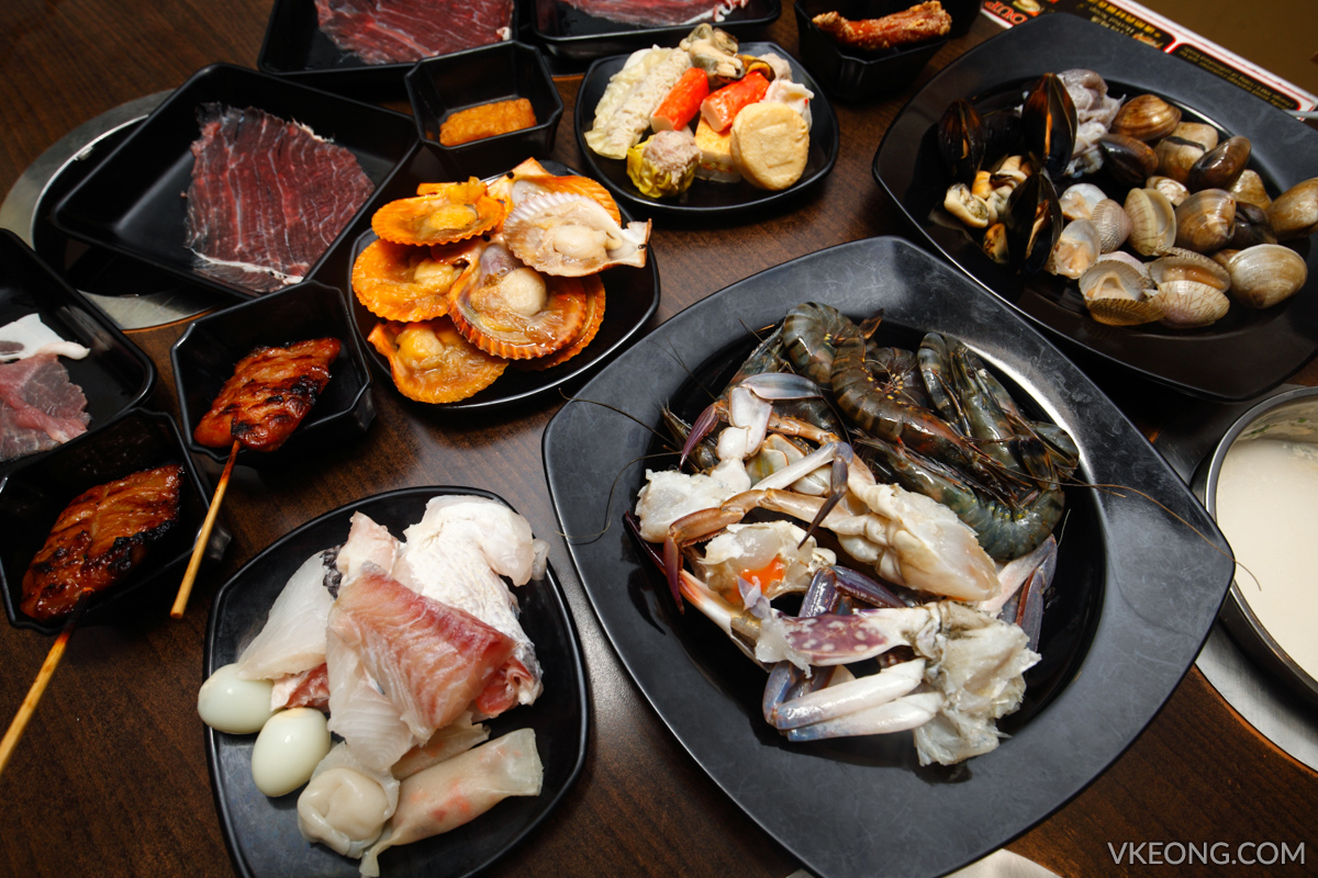 EatMor Paradise Kepong Steamboat Buffet