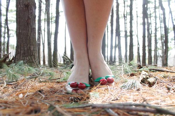 melissa vivienne westwood cherry heels