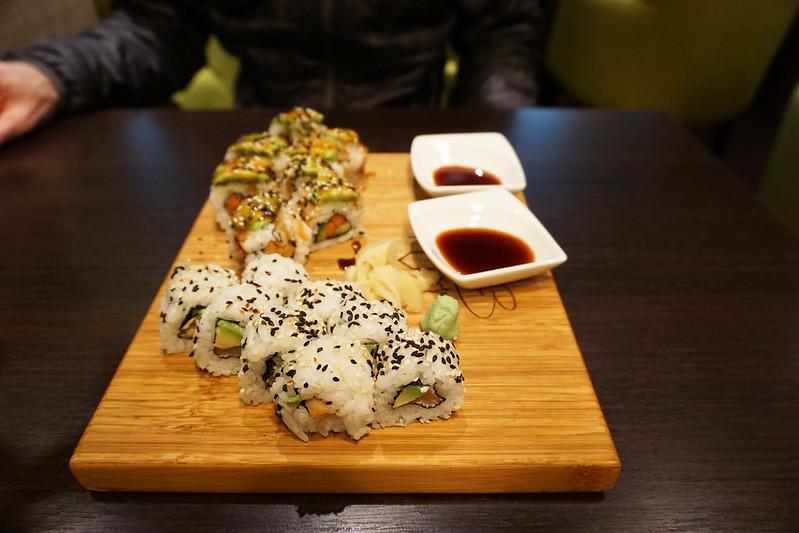 sushi in Zagreb