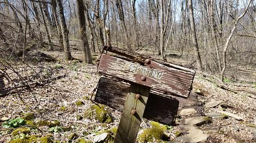 Old Spring sign