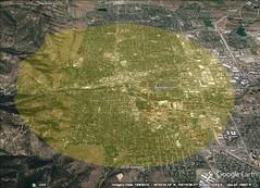 Boulder 5 kilometer diameter