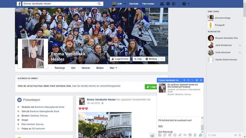 emma vandbakk hesler facebook