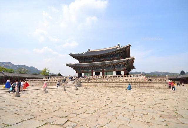 Gyeongbokgung Palace seoul itinerary