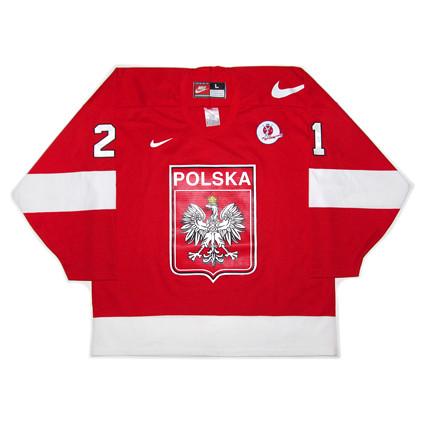 Poland 1998 F jersey