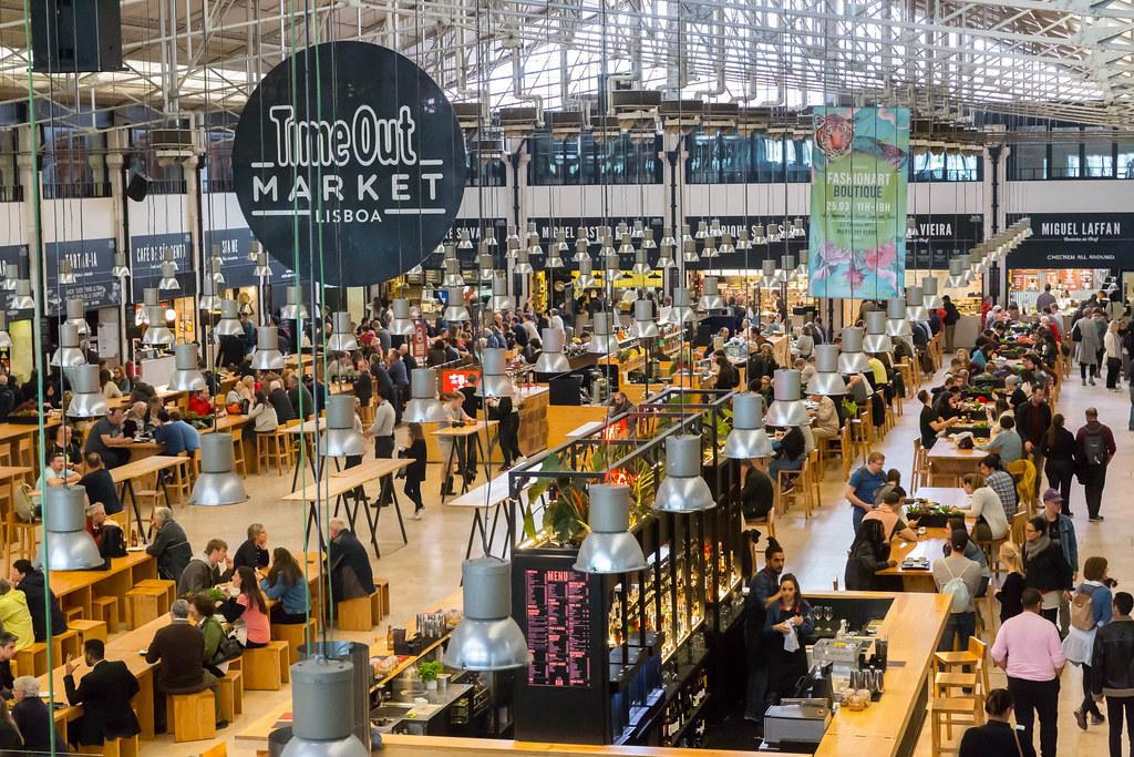 Resultado de imagem para Time Out Market Lisboa