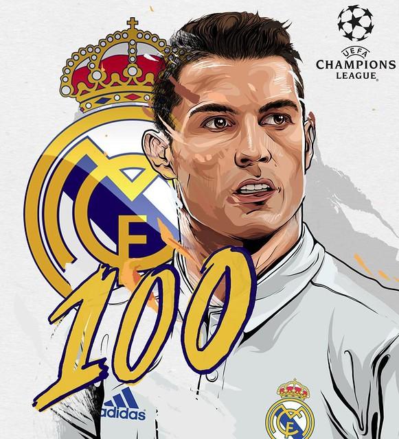 100 Goles de Cristiano Ronaldo en la Champions League