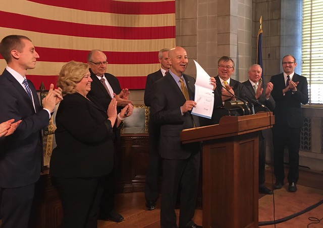 Gov. Ricketts Signs Pro-Life Legislation
