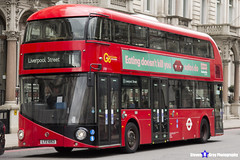 Wrightbus NRM NBFL - LTZ 1053 - LT53 - Liverpool Street 11 - Go Ahead London - London 2017 - Steven Gray - IMG_9174