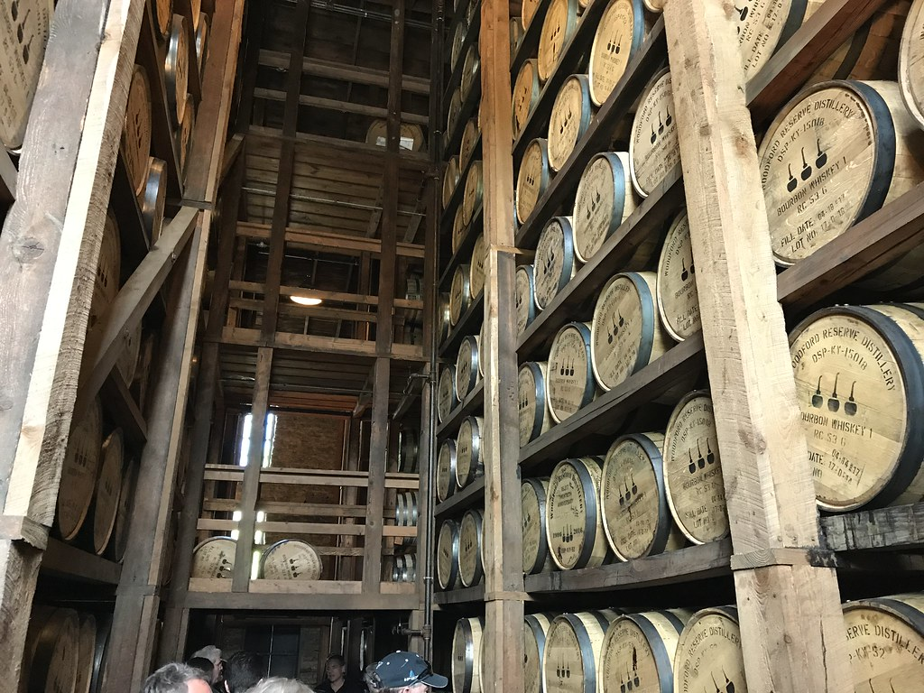 Woodford Reserve Barrel Room inside